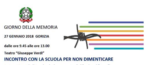 You are currently viewing GIORNO DELLA MEMORIA, INCONTRO CON LA SCUOLA PER NON DIMENTICARE