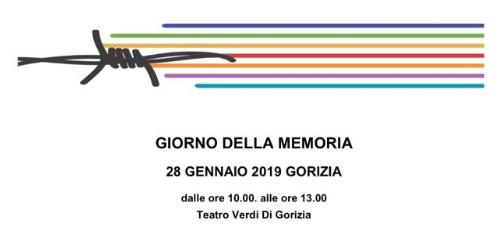 IL GIORNO DELLA MEMORIA – GORIZIA 28 GENNAIO 2019