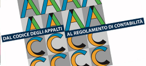 Dal codice degli appalti al regolamento di contabilità – L'Aquila, 8 aprile 2019