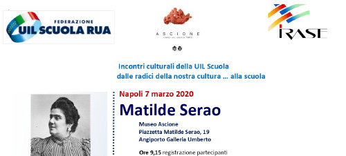 You are currently viewing Incontro di formazione: Matilde Serao
