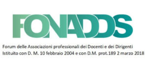 COMUNICATO STAMPA FONADDS