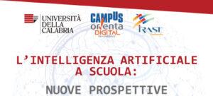 """Webinar gratuito: """"L'INTELLIGENZA ARTIFICIALE A SCUOLA: NUOVE PROSPETTIVE"""""""