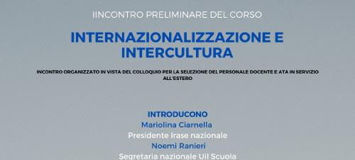 Internazionalizzazione e Intercultura