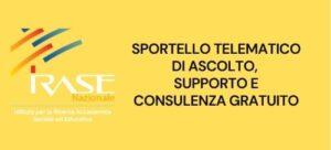 Read more about the article IRASE Per la Scuola: Sportello telematico di ascolto,  supporto e consulenza gratuito